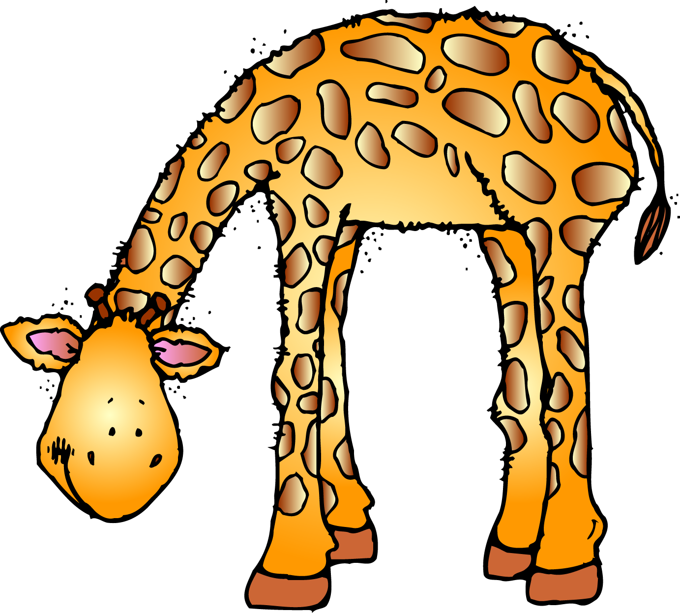 Free animal download clip. Zoo clipart zoo habitat png black and white library