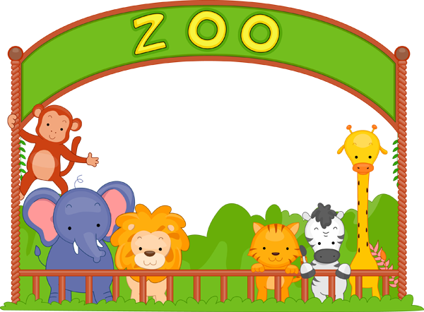 Zoo clipart dear zoo. Clip art animals panda