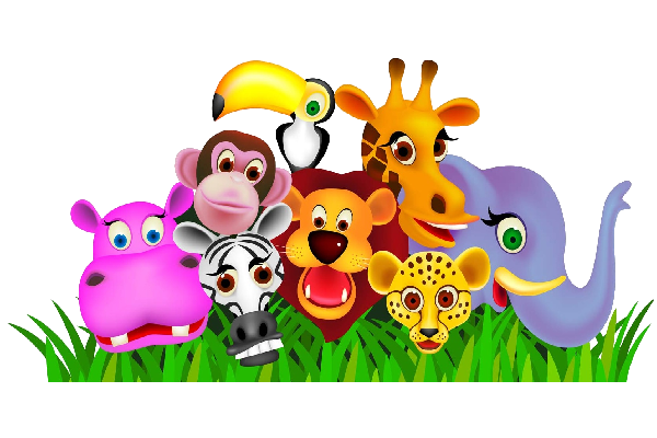 Zoo clipart. Svg black and