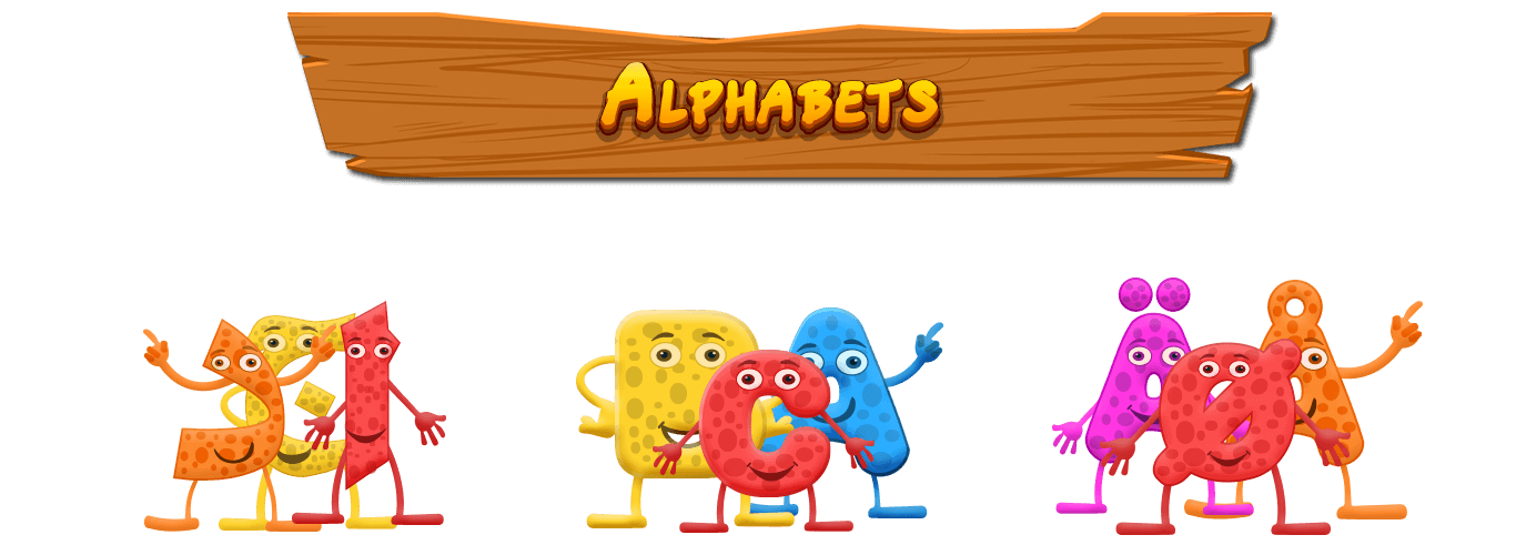 Zoo clipart alphabet. Abc letters learning games
