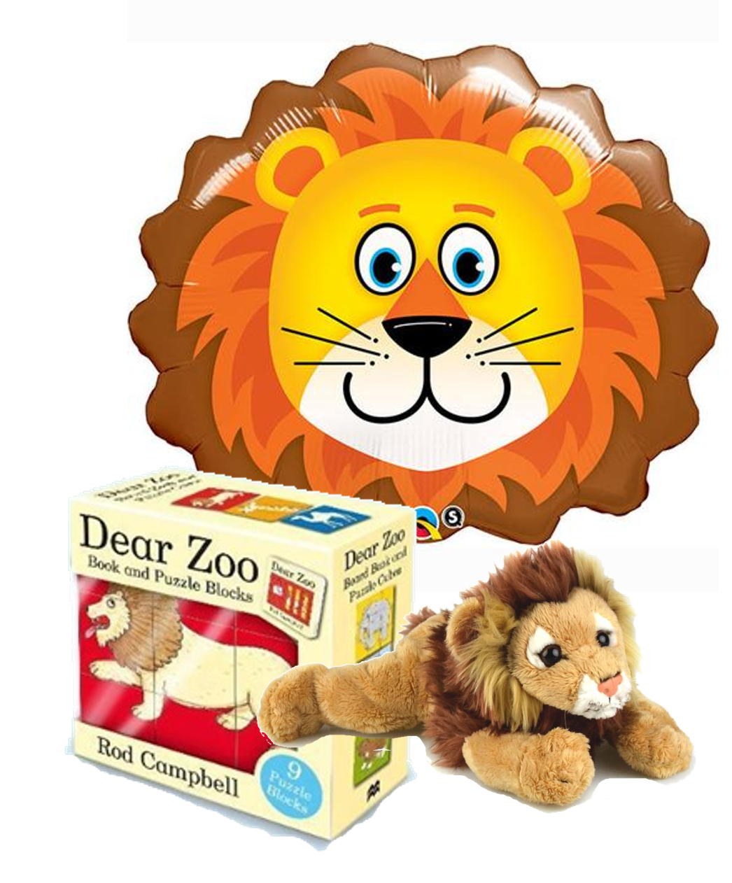 Zoo clipart dear zoo. Lion gift combo teddy