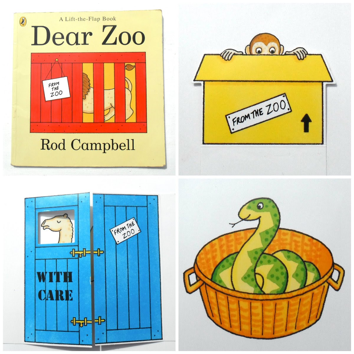 Zoo clipart dear zoo