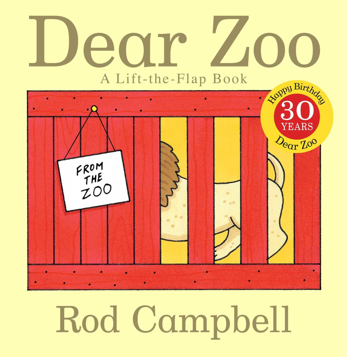 Zoo clipart dear zoo. A lift the flap