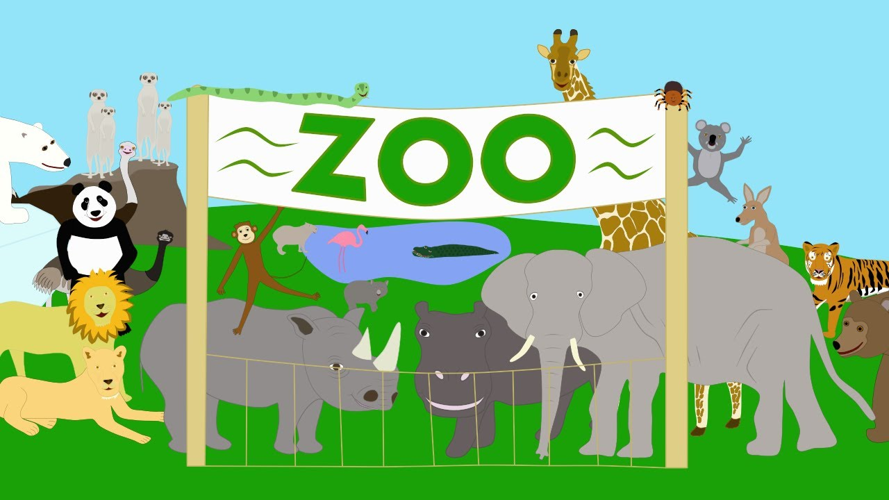 Zoo clipart english school. At the youtube