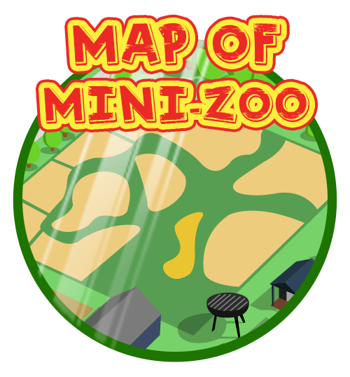 Zoo clipart scenery. Mini the animals of