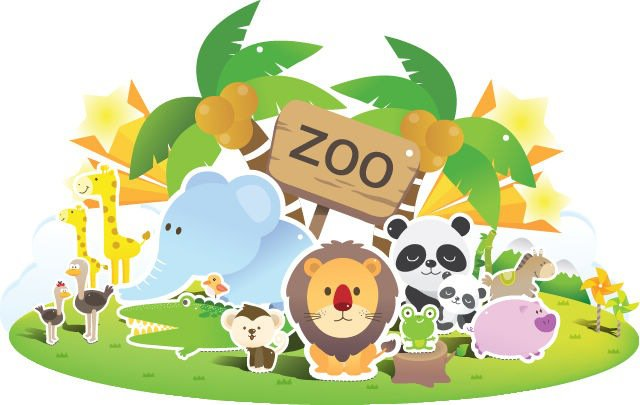Free . Zoo clipart graphic transparent library
