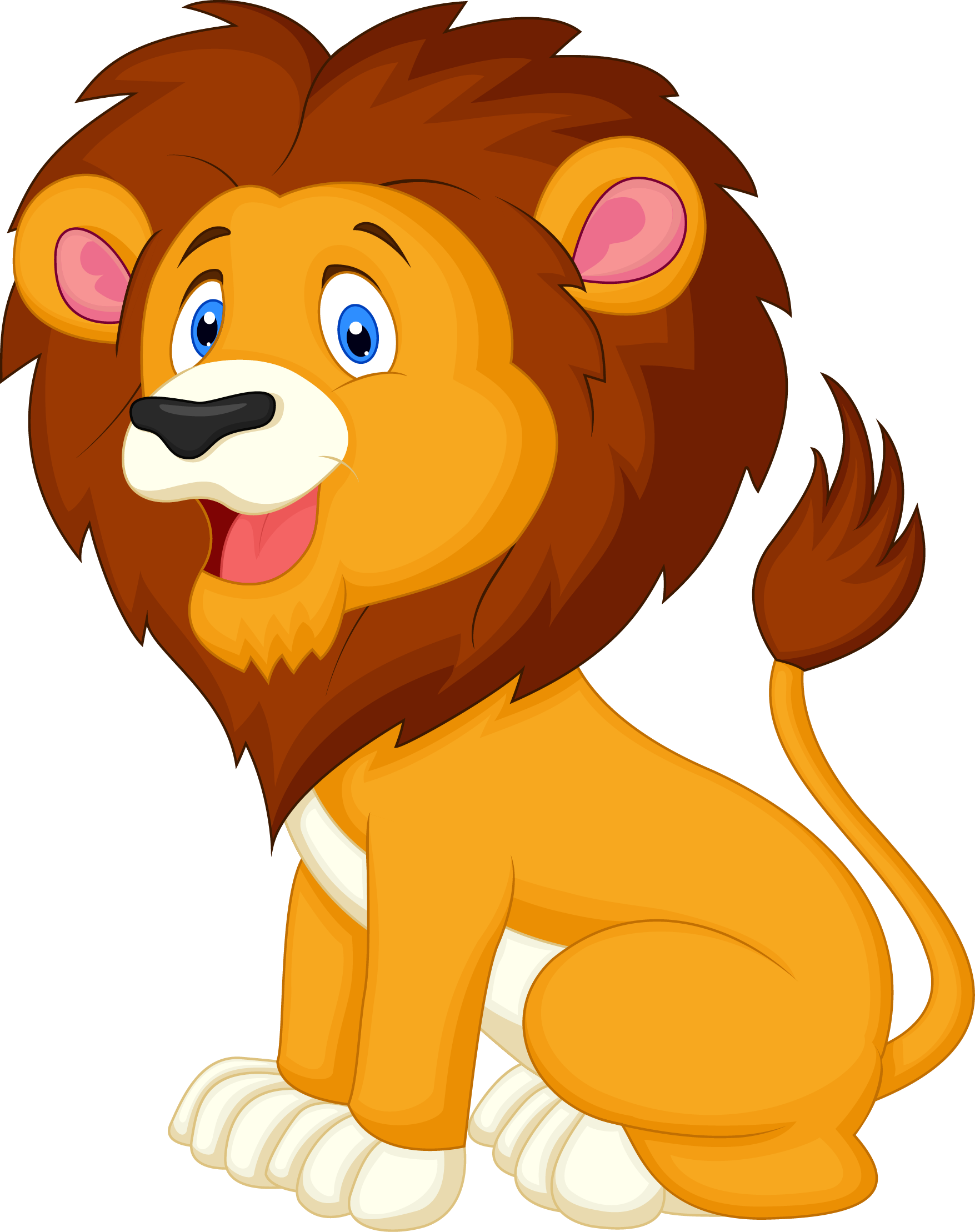 Carnival transparent lion