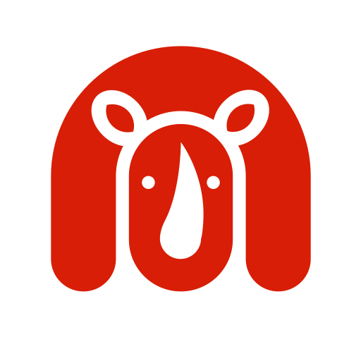 Zoo vector logo. Animals icon with png