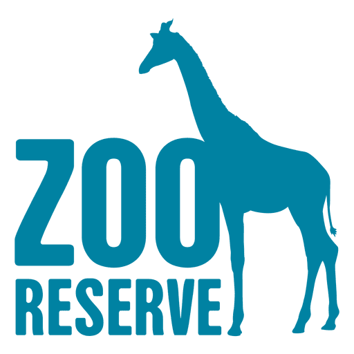 Reserve transparent png svg. Zoo vector logo banner stock