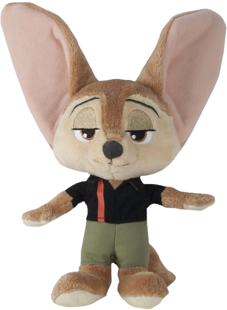Zootopia finnick png. Beanie plush popcultcha