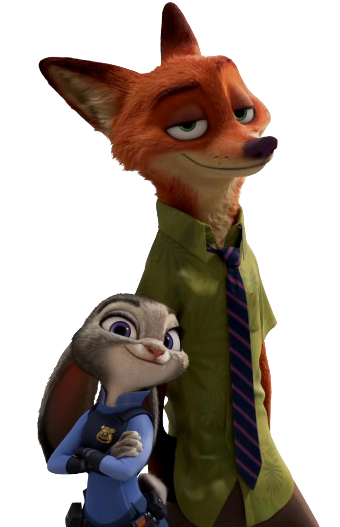 Zootopia judy and nick selfie png. By simmeh on deviantart