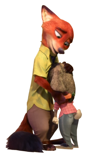 Zootopia nick png. Oh it so cute