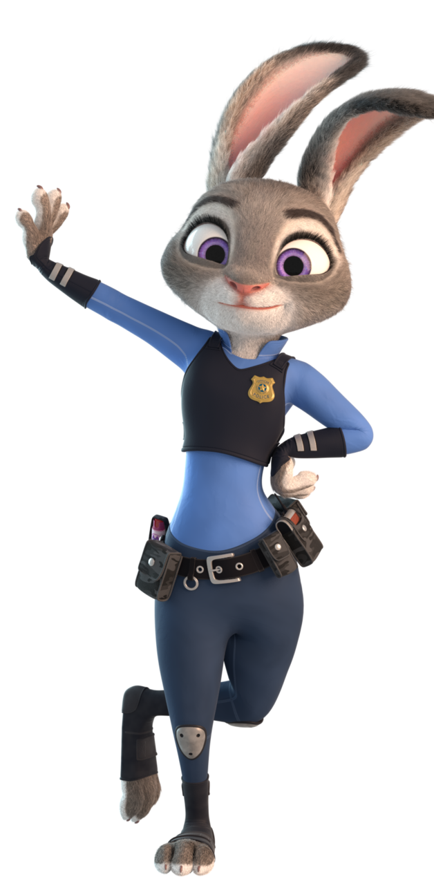 Zootopia png images. Judy hopps pose by
