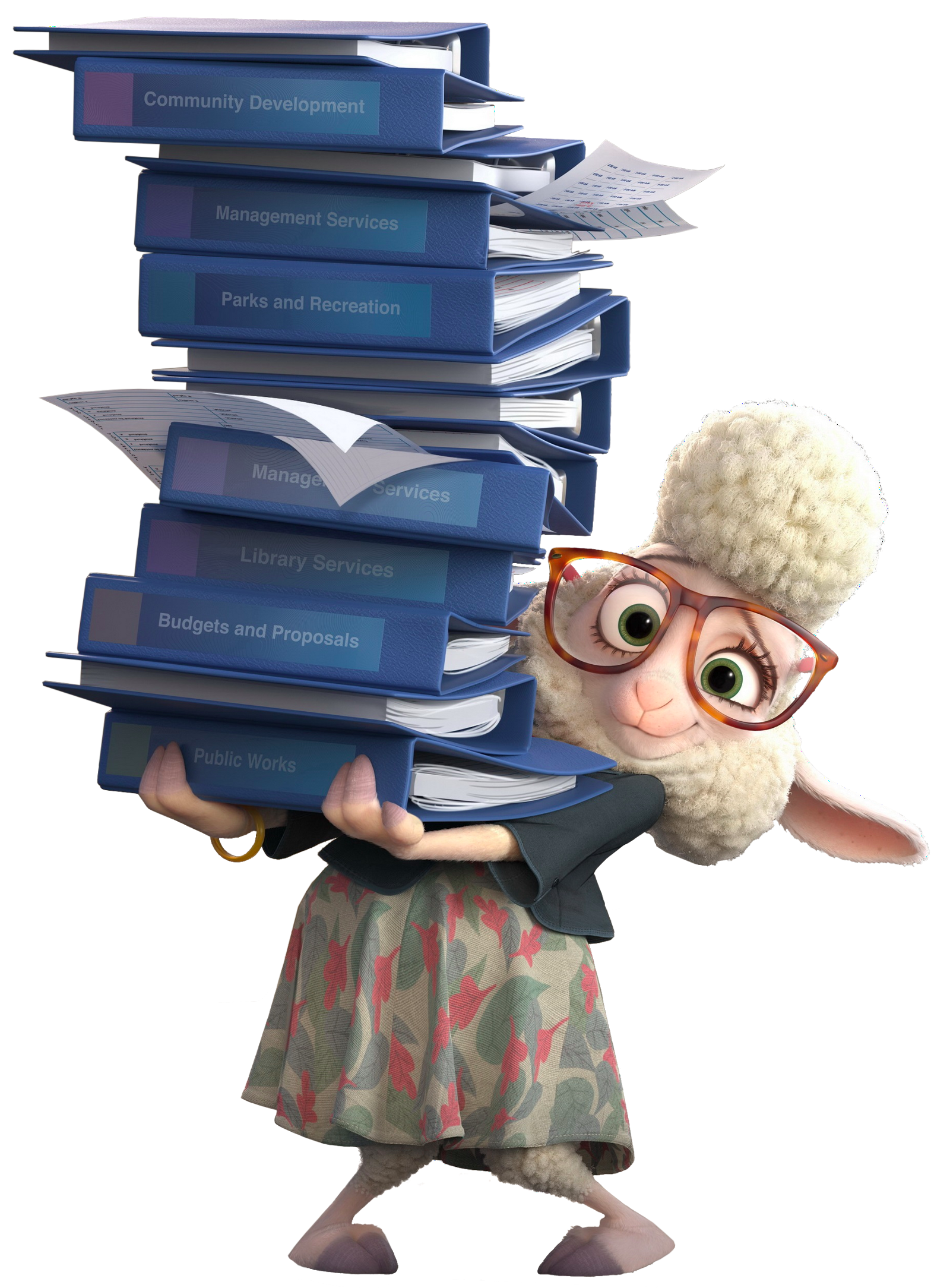 Zootopia stop sign png. Bellwether drawing from w