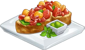 And shallot bruschetta chefville. Zucchini clipart clip transparent download