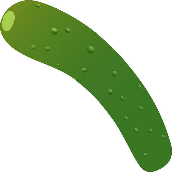 Clip art at clker. Zucchini clipart small jpg transparent stock