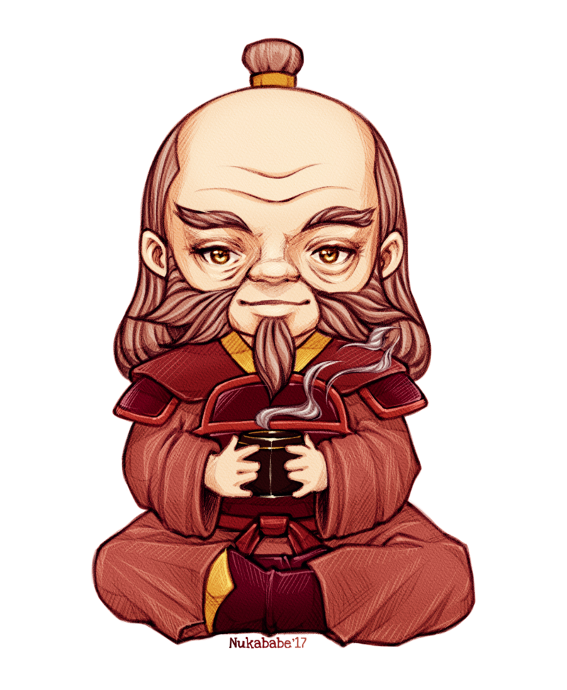 Zuko drawing iroh. Uncle chibi by nukababe