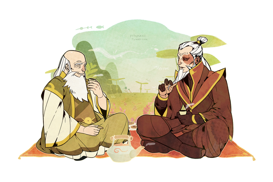 Zuko drawing iroh. Visiting uncle by freestarisis