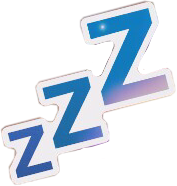 Zzz transparent tired. Popular and trending stickers